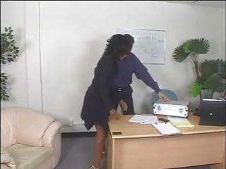 Ebony anal abuse domination Ebony gets fucked by a dominating white couple