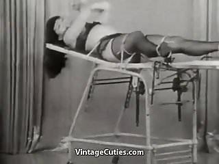 Daisy chain pornstar Beautiful brunette escapes her chains 1950s vintage