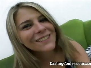 Awkwad teens first sex video - 22 year old meghan get cast for first sex video