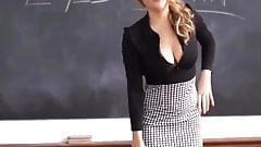 World's Beautiful Milf Teacher on The Class Room - The Porn