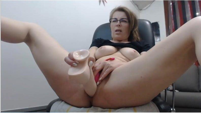 Webcam mom