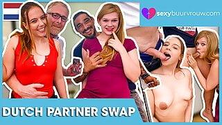 Dutch foursome: do not get jealous! SEXYBUURVROUW.com