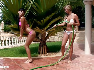 Porn family seduction Water seduction by sapphic erotica - lesbian love porn with