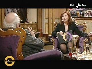 Nude italian tv Anna la rosa upskirt in italian tv