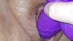 Big Dildo in a Fat Pussy