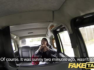 The infamous doulbe dildo janie Fake taxi taxi fan finally gets infamous cock