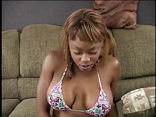 Sexy black tits long movies Sexy black chick fingers her hairy wet pussy and sucks long cock