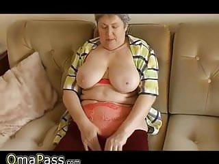 Chubby old solo grannies thumbs - Omapass old horny chubby granny solo masturbation