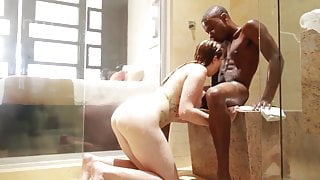 hot redhead and her black lover
