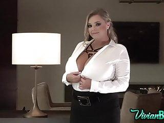 Nude blush lipstick - Vivian blush teaser