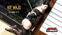 Japanese housewife, Aoi Wajo is into BDSM, uncensored