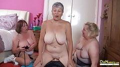 OldNanny - Busty British Mature Lesbian Masturbation