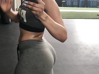 Ass picture rounded Maliah - picture seeing this ass in the gym