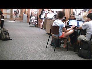 Fist city credit union Cute brunette soles at union