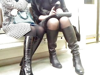 Sexy teen on boots - Sexy legs and boots