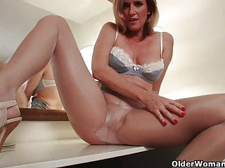 Pantyhose lesbian grandmas Grandma has her hardest orgasms in pantyhose