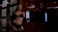 Jennifer Garner - Black lingerie