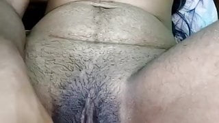 After pregnancy wife gets her pussy hole filled