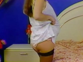 Nude panty drop - Ready to drop nylon panties