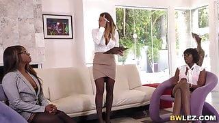 Brooklyn Chase, Ana Foxxx & Skyler Nicole - Zebra Girls