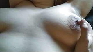 Cumming on my thick stepsister's hairy pussy! - Milky Mari