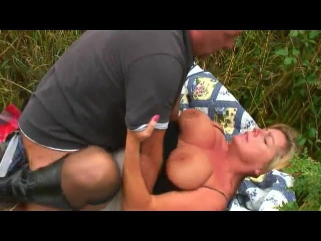German Mature Big Natural Tits