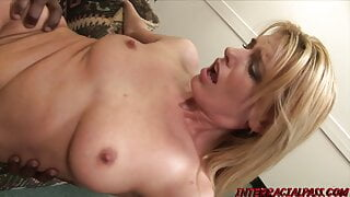Darryl breaks her swinger rules to fuck this beautiful BBC