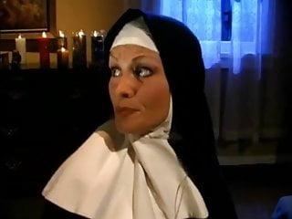 Nuns eating cum - Two sexy lesbian nuns