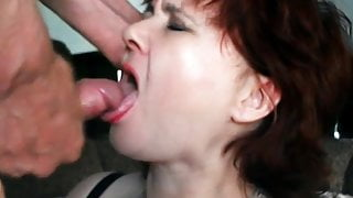 Russian wife does not like cum