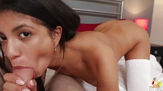 Veronica Rodriguez fucked from behind