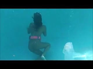 Self bondage tutorial Underwater self bondage