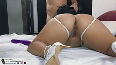 Asking for Anal Creampie Until She Squirts!!!