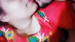 Desi cute girl kissing passionate