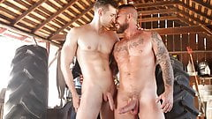 Uncle Duke Teaches Young Guy What a Big Fat Cock Is