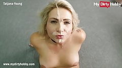 MyDirtyHobby - Huge POV facial cumshot for gorgeous blonde