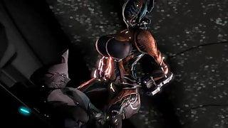 Dominant Valkyr - Warframe (animation by White-crow)