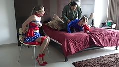487 The Man Behind The Mask Fucked Super Girl