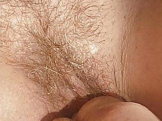 Mature hairy fanny Wifes hairy fanny on hotel balcony