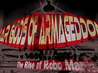 Vintage collectable toy stores robo force - War gods of armageddon rise of robo maria