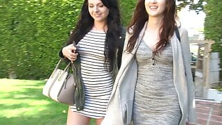 Naughty and dirty young teens - lesbian fun play