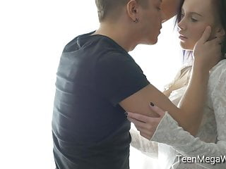Teen fuckes his hot babysitter Guy intends on fucking his hot girlfriend all afternoon