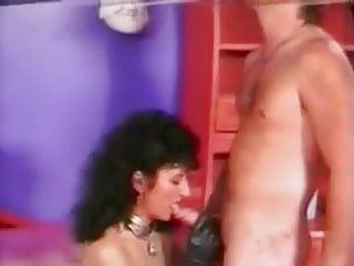 Vintage sex titfucking tube free Nikki king blowjob and long titfuck