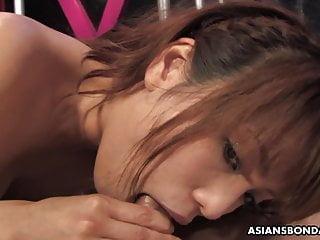 Shimizu misa nude Delightful vixen, yui shimizu got doublefucked during a casu