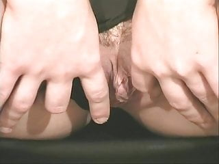 Free xxx garter belt nylons vids - Sexy young brunette in garter belt rubs her shaved cunt and spreads ass
