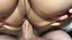 HOT!!! ANAL CREAMPIE For Horny Amateur Wife!!!