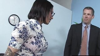 Cuckold watching his Hotwife Juelz Ventura With A Black