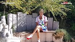 MyDirtyHobby -MILF gefickt at Oktoberfest wearing her dirndl