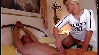 Lady's tease and denial