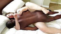 white girl hard fuck with black
