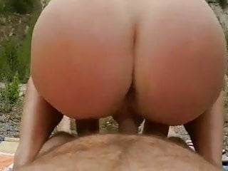 Public anal flashing - Italian couple fucking and anal sex from behind in nature